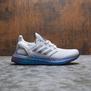 Adidas Women UltraBOOST 20 W (gray / grey three / boost blue violet metallic)