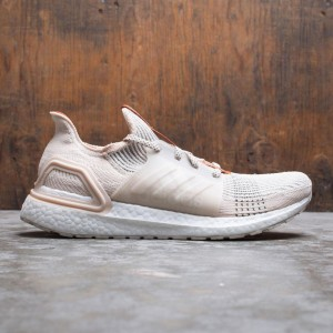 Adidas Consortium x Wood Wood Men UltraBOOST 19 (beige / linen / fox red / clear brown)