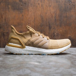 Adidas Consortium x Universal Works Men UltraBOOST 19 (brown / raw sand / mesa / chalk white)