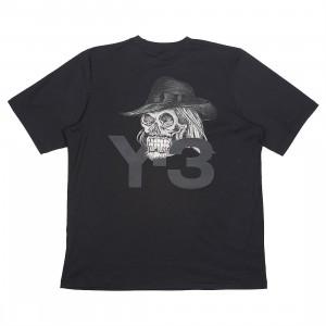 Adidas Y-3 Men Yohji Skull Short Sleeve Tee (black)