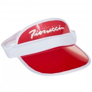 Adidas x Fiorucci Visor Cap (red)