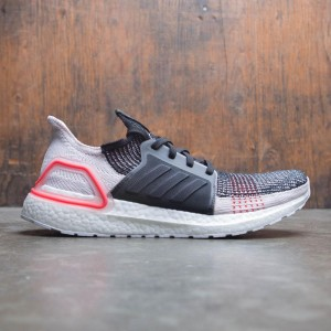 Adidas Men UltraBOOST 19 (black / orchid tint / active red)