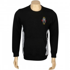 Adidas Mutombo Fleece Crewneck (black / white)
