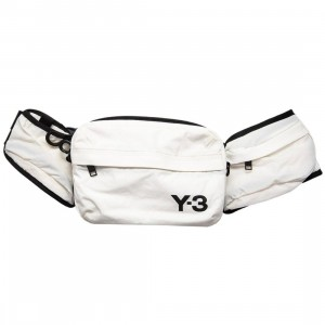 Adidas Y-3 Sling Bag (white / off white)