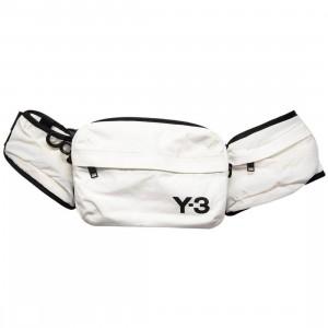 Adidas Y-3 Sling Bag (white / off white)