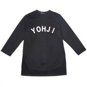 Adidas Y-3 Men FT Yohji Letters Baseball Shirt (black / off white)
