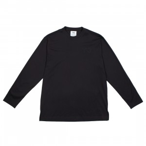 Adidas Y-3 Men Classic Chest Logo Long Sleeve Tee (black)