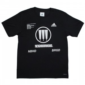 Adidas x Neighborhood Men SSL NBHD Tee (black)