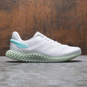 Adidas Men 4D Run 1.0 (white / footwear white / blue spirit)