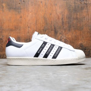 Adidas x Human Made Men Superstar 80s (white / core black / off white)