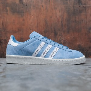 Adidas x Human Made Men Campus (blue / light blue / footwear white / off white)
