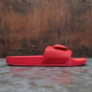 Adidas x Pharrell Williams Men Boost Slide (red / active red)