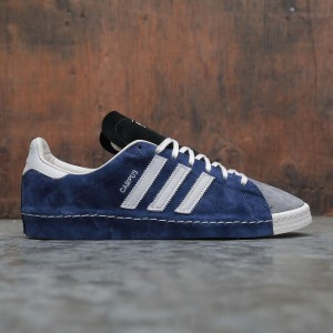Adidas x Recouture Men Campus 80s Shun Hirose (blue / dark blue / chalk white / core black)