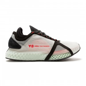 Adidas Y-3 Men Runner 4D IOW (beige / clear brown / black / red)