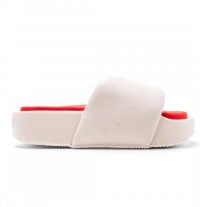 Adidas Y-3 Men Slide (beige / clear brown / off white / red)