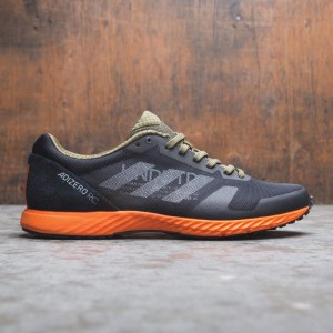 Adidas x Undefeated Men Adizero RC (black / light grey heather / orange)