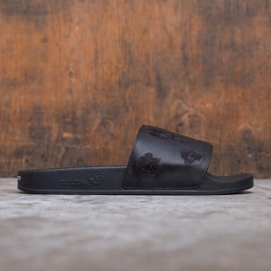 Adidas Y-3 Men Adilette AOP Slides (black)