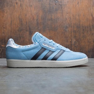 Adidas x Have A Good Time Men Gazelle Super (blue / clear blue / core black / chalk white)