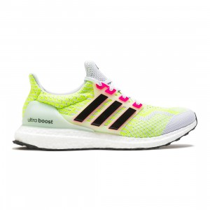 Adidas Men UltraBOOST 5.0 DNA (gray / dash grey / core black / signal green)