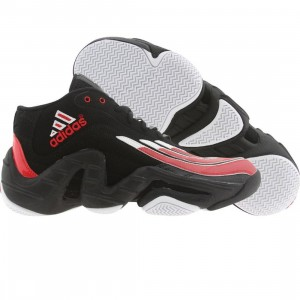 Adidas Men Real Deal - Antoine Walker (black / runninwhite / light scarlet)