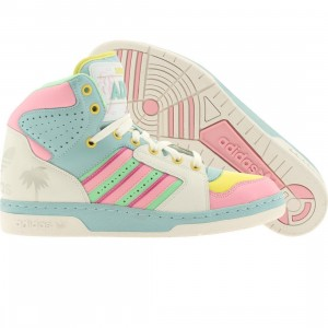 Adidas Men ObyO JS License Plate Miami - Jeremy Scott (white vapor / college green / cllgpn)