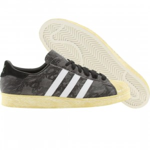 Adidas Men Superstar 80s (black / whtdow / legacy)