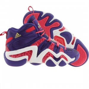 Adidas Big Kids Crazy 8 J (purple / blapur / vivber / runninwhite)