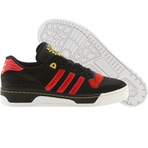 Adidas Men Rivalry Low (black / light scarlet / runninwhite)