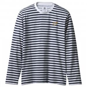 Adidas x Human Made Men LSL Tee (navy / collegiate navy)
