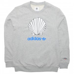 Adidas x Noah Men Crew Neck (gray / medium grey heather)
