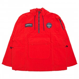 Adidas Men Todmorden Smock Jacket (red / power red)