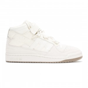 Adidas x Ivy Park Men Forum Mid (gray / aluminum / core white/ gum)