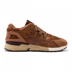 Adidas Men ZX 10000 C Schokohase (brown / wild brown / cream white / savannah)