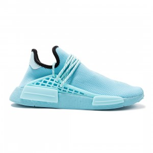 Adidas x Pharrell Williams Men HU NMD (blue / clear aqua / light aqua / core black)