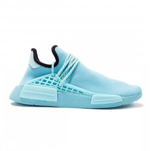 Adidas x Pharrell Williams Men HU NMD (blue / clear aqua / light aqua / core black)