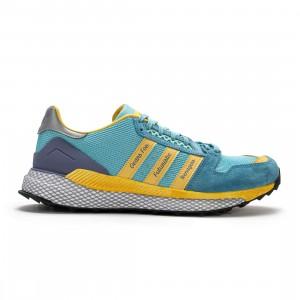 Adidas x Human Made Men Questar (blue / light aqua / st fading ocean / core black)