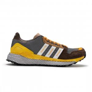 Adidas x Human Made Men Questar (brown / cardboard / footwear white / grey)