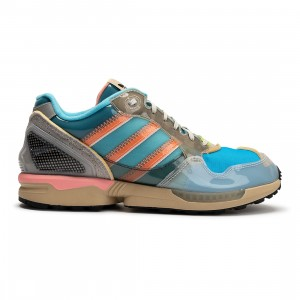 Adidas Men XZ 0006 Inside Out (blue / bright cyan / chalk coral / stone khaki)
