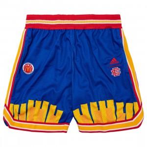 Adidas x Eric Emanuel Men McDonald's All American Game RR Shorts (blue / bold blue)