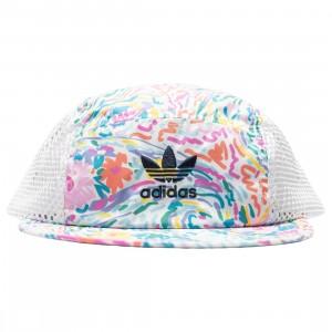 Adidas x Noah Tech Cap (multi / frost blue / vivid green / light pink)