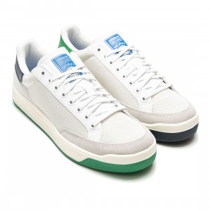 Adidas x Noah Men Rod Laver (white / green / collegiate navy)