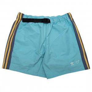Adidas x Human Made Men Windshorts (blue / light aqua / st fading ocean)