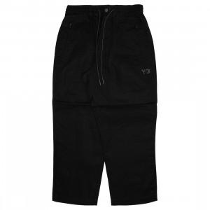 Adidas Y-3 Men CH1 Waxed RS Utility Pants (black / utility black)