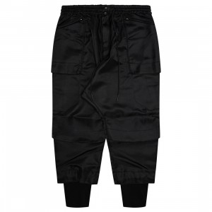 Adidas Y-3 Men Classic Tech Twill Cargo Pants (black)