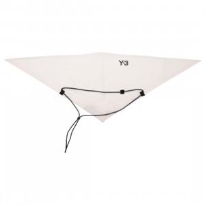 Adidas Y-3 Reflective Bandana (white / undyed)