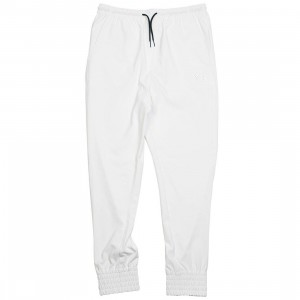 Adidas Y-3 Men PU Cuff Pants (white / black)