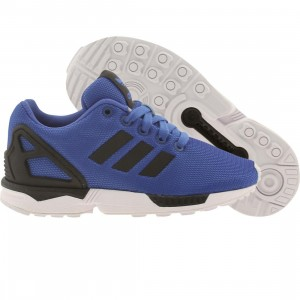 Adidas Little Kids ZX Flux K (blue / black / ftwwht)