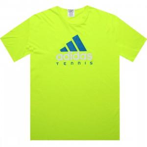 Adidas Tennis Ess Logo Tee (electricity)