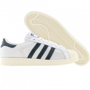 Adidas Men Superstar 80s (runninwhite / dpetru / ecru)