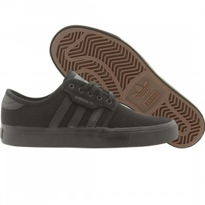 Adidas Skate Little Kids Seeley J (black / dark cinder)